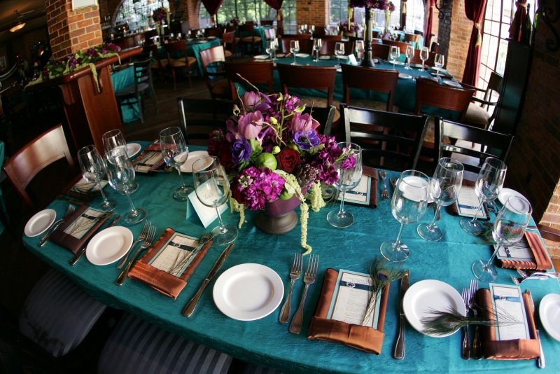 Teal And Copper Wedding Decorations  from felicityevents.files.wordpress.com